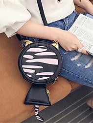 Femme Polyuréthane Extérieur Mobile Bag Phone Rose / Noir