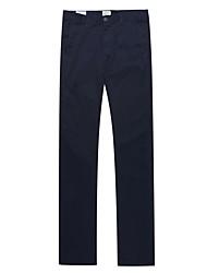 Men's  Cotton Casual Straight Pants