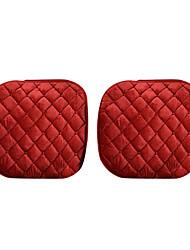 ajustement universel pour la voiture, camion, suv, ou coussin de siège de voiture van textile coussin de siège avant (1 pieces set) rouge