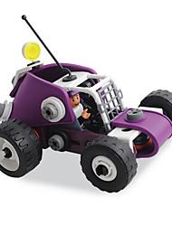Blocos de Construir para presente Blocos de Construir Modelo e Blocos de Construção Carro Plástico 8 a 13 Anos Roxa Preta Brinquedos
