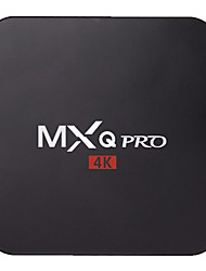 MXQ Pro Amlogic S905 Quad Core Kodi Fully Loaded Android 5.1 1GB 8GB 4K HDMI WIFI Airplay Miracast VS CS918,M8S TV Box