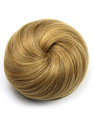 Kinky Curly Gold Europe Hepburn Human Hair Weaves Chignons 1011