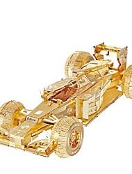 Пазлы 3D пазлы / Металлические пазлы Строительные блоки DIY игрушки Автомобиль Металл Розовый / Зеленый Модели и конструкторы