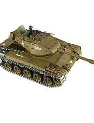 Simulation of Remote Control Tank Sarge 1:16 Wark America Bbulldog 3839 Plastic Version Programming Acousto-Optic Sound