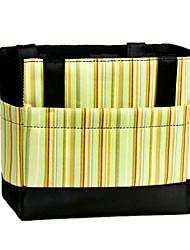 Fashion Stripe Insulation Lunch Bag  Mummy bag Oxford Cloth Outdoor Storage Bag Diaper Bag