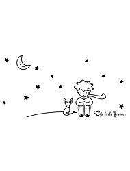 Wall Stickers Wall Decals Style Star Moon PVC Wall Stickers