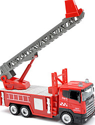 Dibang - children's toys free shipping 1:43 alloy car model toy fire engine Inertial ladders (3PCS)