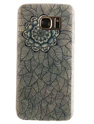 Pour Samsung Galaxy S7 Edge Motif Coque Coque Arrière Coque Mandala Flexible PUT pourS7 edge S7 S6 edge S6 S5 Mini S5 S4 Mini S4 S3 Mini