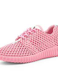 Women's Athletic Shoes 2017 Summer And Spring Mesh Surface Tourism And Leisure Sports Shoes Lightweight Running Shoes Low Help Shoes with Flat Shoes