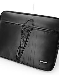 pofoko® 11/13/14/15 Zoll wasserdichte Laptop-Hülle schwarz / grau
