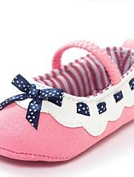 Baby Shoes-Tempo libero-Ballerine-Cotone-Rosa