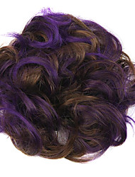 Wig Purple 5CM High-Temperature Wire Color Hair Ring Colour 2/30-FP03