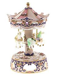 abs weiß / lila / pink kreative romantische Musik-Box für Geschenk