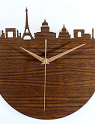 The French City Of Paris Maein 3D Hollow Wall Clock