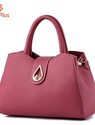 Femme Polyuréthane Formel / Décontracté / Extérieur / Bureau & Travail / Shopping Cabas Blanc / Rose / Rouge / Gris / Noir