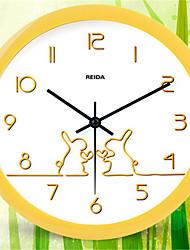 Rond Moderne/Contemporain Horloge murale,Autres Métal 23.5*23.5*5