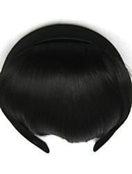cabelo humano crespos encaracolados retardador preto cabeça tece chignons 2