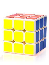 Yongjun® Cube velocidade lisa 3*3*3 Velocidade Cubos Mágicos Branco ABS