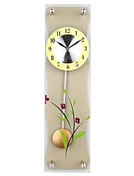 Redonda Moderno/Contemporâneo Relógio de parede,Outros Plástico 58*24.5*7