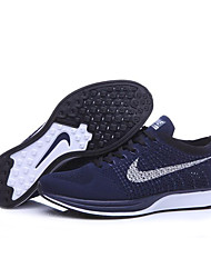 Nike Flyknit Racer Black White Kanye West Oreo Men Running Shoes \ Nike Racer Blue Lagoon  Men Sneaker
