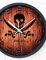 Mysterious Pirate Style Wall Clock