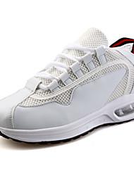 MasculinoConforto-Rasteiro-Preto / Vermelho / Branco / Preto e Branco-Tule-Para Esporte