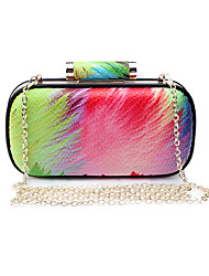 L.WEST Women's The Elegant Colorful Evening Bag
