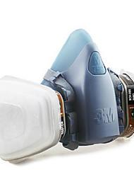 3m-7502 6001 vapeurs organiques masque anti-poussière formaldéhyde respirateur