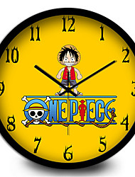 Cute Cartoon Home Furnishing Decorative Children Quartz Wall Clock