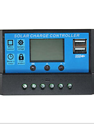20A Solar Controller, LCD Display, 12V/24V Adaptive, Dual USB, 5V Output