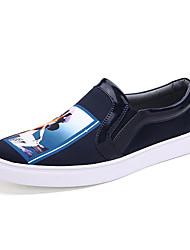 Sapatos Masculinos Tamancos e Mules Preto / Azul / Branco / Preto e Dourado Sintético Ar-Livre / Escritório & Trabalho / Casual