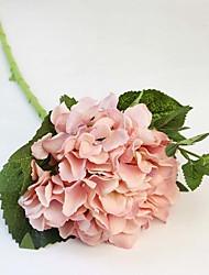 """1 Ast Seide Hortensie Tisch-Blumen Künstliche Blumen 46 (18.11""""), 16 (6.3"""")"""
