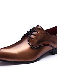 мужская обувь настроены материалы свадьба / партии&вечер оксфорды свадьба / партия&вечер пятки кружева upblack / золото