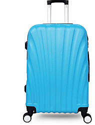 Unisex Plastic Outdoor Luggage Blue / Green / Gray