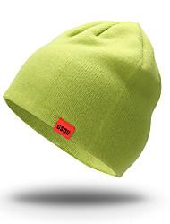 Bonnet de Ski Ski Casquettes/Bonnet / Chapeau Femme / Homme / Unisexe Garder au chaud / Pare-vent Snowboard ToisonVert / Rouge / Noir /