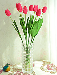 Hi-Q 1Pc Decorative Flowers Real Touch Tulip For Wedding Home Table Decoration Artificial Flowers