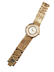 Women's Luxury Fashion Crystal Dial Steel Band Quartz Watch