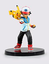 embolsar pouco Ketchum monstro cinzas e pika pika figuras de ação abs altura 13,5 centímetros de anime