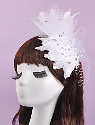 The Grenadine Feather Top Hat