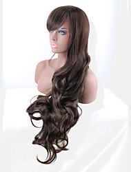 Long Length 85Cm Wave Synthetic  Wigs