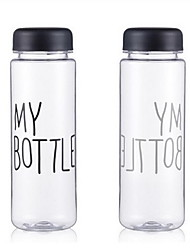 моя бутылка пластиковая чашка