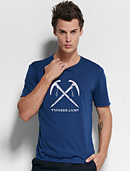Men's Sport T-shirt Tops Soft Leisure Sports