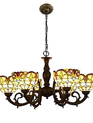 Baroque style Chandelier,Tiffany Style with 6 Lights