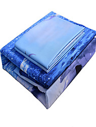 Dolphin 3d Bedding Set Bedding Sets 100% Polyester Queen/Double/King/Twin Size