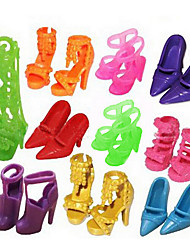 1484 sapatos de salto alto sapatos de palco sandálias, 10 pares por saco nova variedade de cores