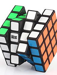Yongjun® Гладкая Speed Cube 4*4*4 Флуоресцентный / профессиональный уровень Кубики-головоломки черный увядает / Кот Пластик