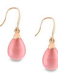 Damen Ohrring Legierung Opal Tropfen - Ohrringe