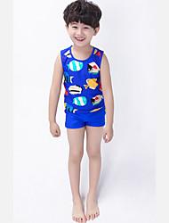 Boy's Polyester Swimwear,Summer Animal Print