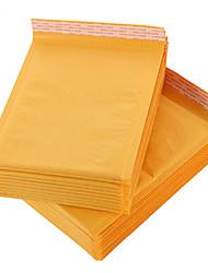 Yellow Kraft Paper Bubble Envelope Bag
