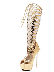 Women's Heels Summer PU Casual Stiletto Heel Others Gold